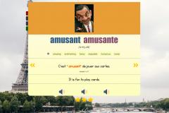 beautifully styled  Anki flashcard