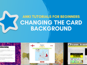 Anki tutorial for beginners chanhing the card background