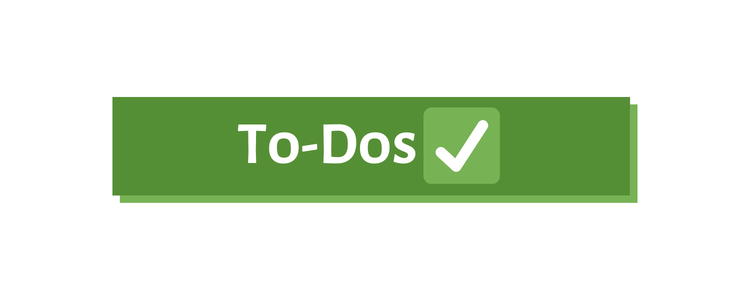 To-Dos - Notion Page Cover