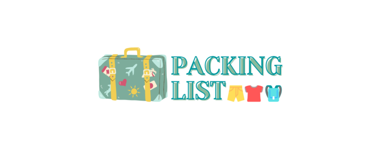 Packing list - Notion Page Cover