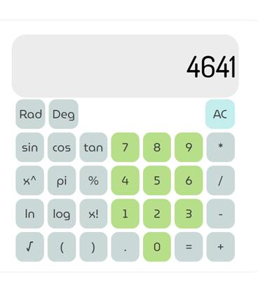 a picture of a calculator